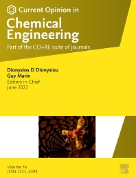Cover image for Current Opinion in Chemical Engineering