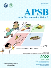 Cover image for Acta Pharmaceutica Sinica B