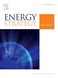 cover of Energy Strategy Reviews