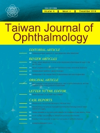 Cover image for Taiwan Journal of Ophthalmology
