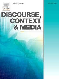 Cover image for Discourse, Context & Media
