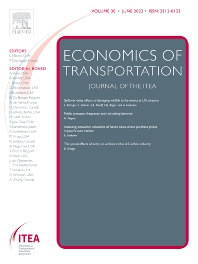 cover of Economics of Transportation