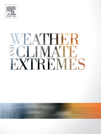 Cover image for Weather and Climate Extremes