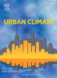 Cover image for Urban Climate