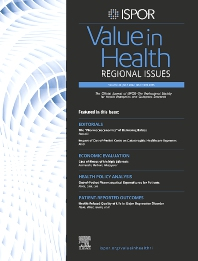 Cover image for Value in Health Regional Issues