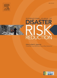 International Journal of Disaster Risk Reduction - ISSN 2212-4209