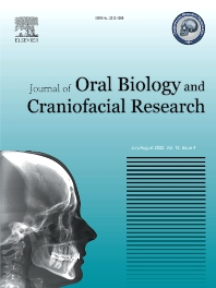 Cover image for Journal of Oral Biology and Craniofacial Research