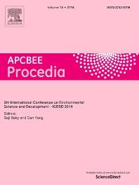 APCBEE Procedia