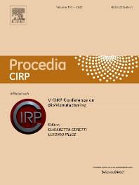 Cover image for Procedia CIRP