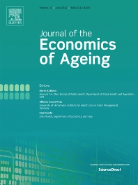 Cover image for The Journal of the Economics of Ageing