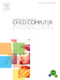 Cover image for International Journal of Child-Computer Interaction