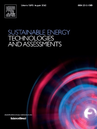 Sustainable Energy Technologies and Assessments - ISSN 2213-1388