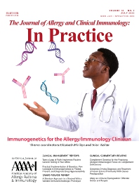 The Journal of Allergy and Clinical Immunology: In Practice - ISSN 2213-2198