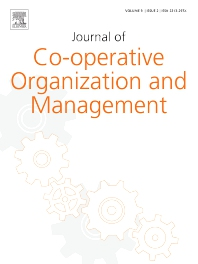 Cover image for Journal of Co-operative Organization and Management