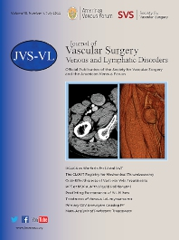 Journal of Vascular Surgery: Venous and Lymphatic Disorders - ISSN 2213-333X