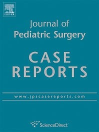 Cover image for Journal of Pediatric Surgery Case Reports