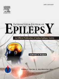 Cover image for International Journal of Epilepsy