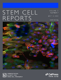 Cover image for Stem Cell Reports