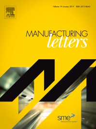 Cover image for Manufacturing Letters