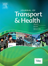 cover of Journal of Transport & Health