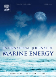 Cover image for International Journal of Marine Energy