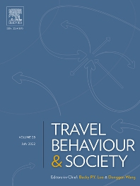 cover of Travel Behaviour and Society