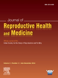 Cover image for Journal of Reproductive Health and Medicine