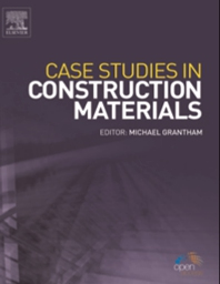 Cover image for Case Studies in Construction Materials