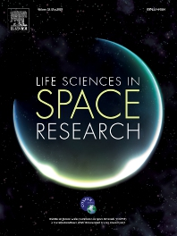 Cover image for Life Sciences in Space Research