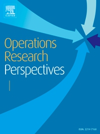 cover of Operations Research Perspectives