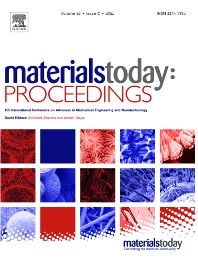 Materials Today: Proceedings - ISSN 2214-7853