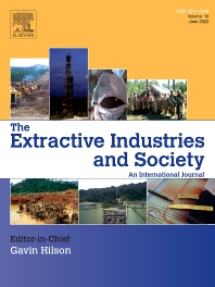 Cover image for The Extractive Industries and Society