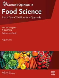 Cover image for Current Opinion in Food Science