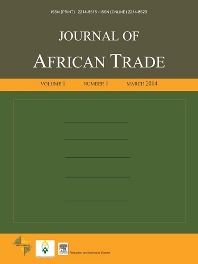 Cover image for Journal of African Trade