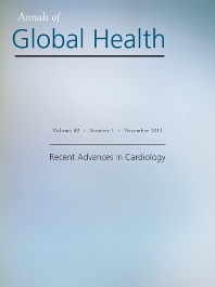 Cover image for Annals of Global Health