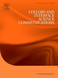cover of Colloid and Interface Science Communications