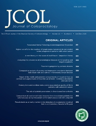 Cover image for Journal of Coloproctology