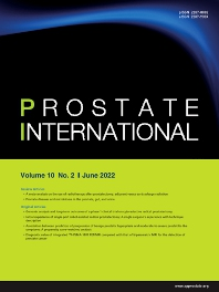 Cover image for Prostate International