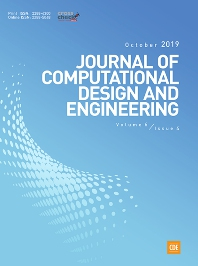 Cover image for Journal of Computational Design and Engineering