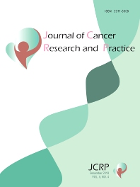 Cover image for Journal of Cancer Research and Practice