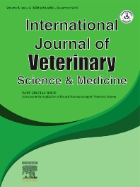 cover of International Journal of Veterinary Science and Medicine