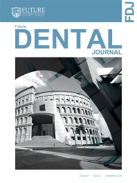 Cover image for Future Dental Journal
