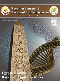 Cover image for Egyptian Journal of Basic and Applied Sciences
