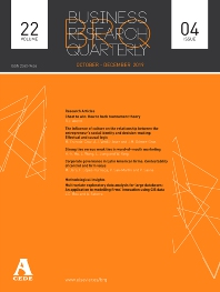 Cover image for Business Research Quarterly