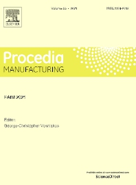 Cover image for Procedia Manufacturing