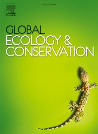 Cover image for Global Ecology and Conservation