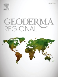 Cover image for Geoderma Regional