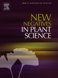 Cover image for New Negatives in Plant Science
