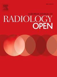 cover of European Journal of Radiology Open