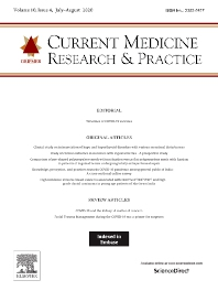 Current Medicine Research and Practice - ISSN 2352-0817